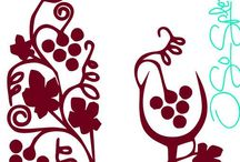 Wine decoración