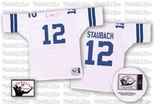 Cowboys #12 Roger Staubach Home Team Color Authentic Elite Official Jersey