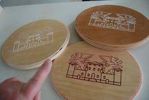 TARGHE TROFEI PREMIAZIONI IN LEGNO / targhe personalizzate in legno multistrato