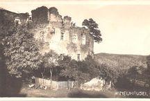 Historické pohlednice Nového Hrádku