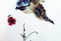 Art Ink Drawings