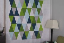 quilts: triangles