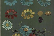 maalatut kukat