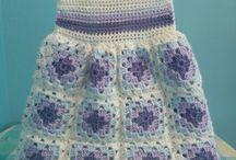 Платья для девочек крючком