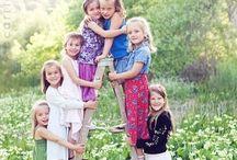 Fotografie-poseren kids