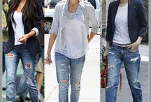 Street style / Everyday casual clothing can be so stylish in the meanwhile.Do it like a star.