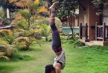 Inspiración yogui / Asanas, yoga, respiración y bienestar