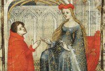 fryzury sredniowiecze