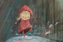 Rain - illustration