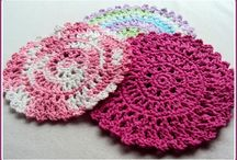 crocheting / by Andy Wheels