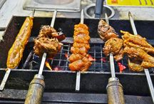 Maama Chicken - Mobile Barbecue Carts / Midland Bakers have brought in the concept of barbecued chicken as a street food – with mobile barbecue carts stationed at different locations in the Madhapur area
