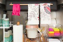 Under the Sink Organizing