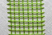 Laced lattice stitch tutorial