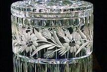 Vintage Glass never looses it's  sparkle...