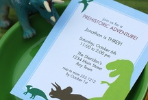 Dinosaur birthday / by Jen D. {Top Ate on Your Plate}