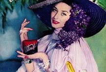 Vintage Cosmetic Ads / Inspiration from the golden age of  advertising....