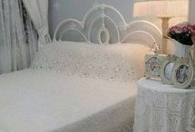 Shabby Chic Guest bedroom.
