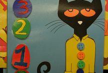 Pre-K Pete the cat / by Genoa Blankenship