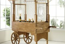 Alcohol Wedding Carts