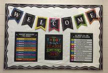 welcome back ideas / En este tablero incluyo ideas para dar la bienvenida al instituto depués de las vacaciones de verano y motivar de alguna manera a mis alumnos a comenzar con ganas y hacerles reflexionar sobre cuál es la clave del éxito.
