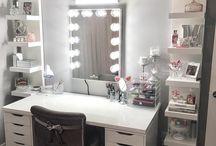 Make up stolečky