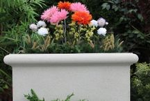 Outdoor Water Fountains / This cast stone planter is an elegant way to present your flowers, shrubs or trees. Its simple rimmed design will match any garden's arrangement and it will also work well with multiple planters, to create a dazzling array of summer floral finery. http://www.thegardenfountainstore.com/orchard-bowl-garden-planter