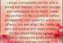 I am a warrior...