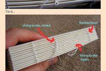 Book binding & paper making
