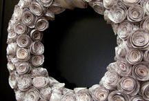 Wreath /coronas para la puerta