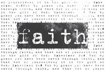 One Little Word 2013: Faith
