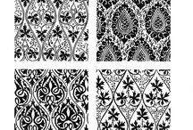 단도 / Textile 반복문양