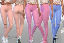 Sims 4 - Female Bottoms