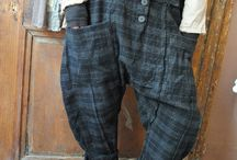 pants / I love to make them, were them and look at them!