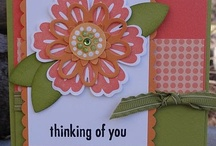 cards, flowers (cuts/punchs) / by Betty Nelson
