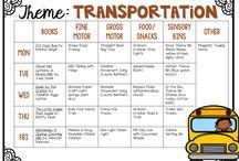 Transportation - Tot School