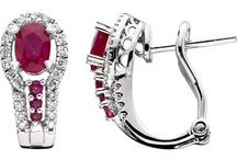 July's Birthstone / Rubies are associated with love, enthusiasm and strength. / by Amoro Jewelry