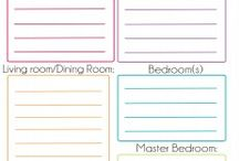 home cleaning printables / by Annette Knotz