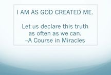 A Course In Miracles quotes