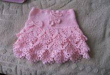 рукоделие.вязание крючком. юбка