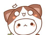 Cuteness☆☆☆☆♡♡♡♡♡♡ ><  * - * / Um bichinho fofo que eu não sei o que é,mas me apaixonei! Muito fofinho♡♡