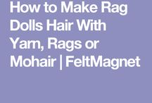 Yarn hair tutorials