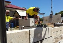 Our Team / If you need work done at your property on things likeretaining walls, fencing and earthworks, choose Downunder Contracting. We are Albany's best.