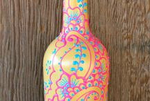 wine bottles / by Frankie Mangus