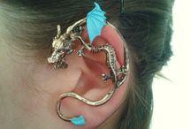 Dragon earring