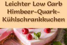 LowCarb No Bake Kühlschrank Torten