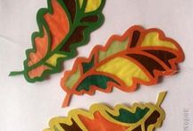 Outono / Autumn / Kids crafts
