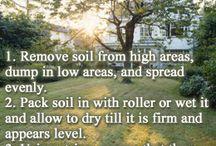 Yard Leveling / Yard Leveling