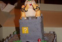 Bowser birthday cake ideas