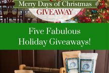 Merry Days of Christmas Giveaways 2017 / 0