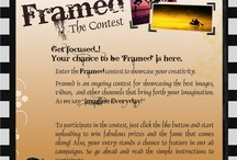 FRAMED - The Contest #1 / Entries for online contest FRAMED, conducted by Fortune Cookie Marketing Solutions. The first contest was a Photography challenge, with the theme 'A Moment Captured'. It was hugely popular with 5 entries chosen as finalists.